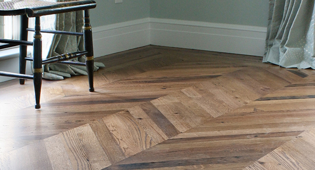 Reclaimed Smooth Oak